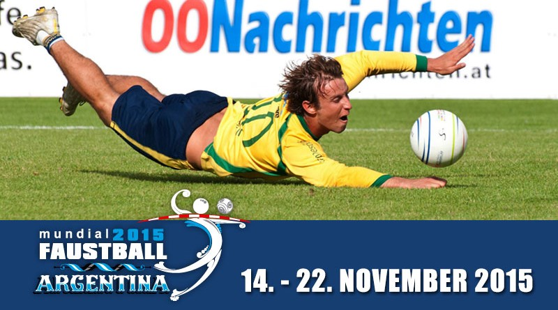Men's Fistball Worlcup 14 - 22 November 2015 in Argentinia