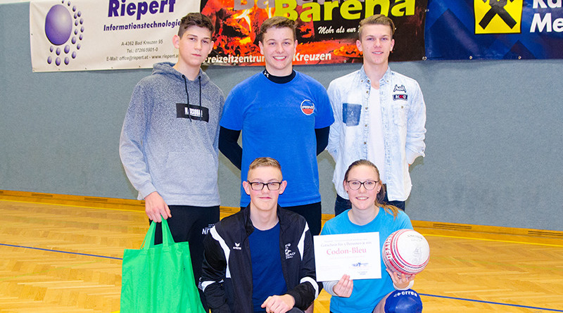 Faustball Ortsmeister 2019: Schware Partie